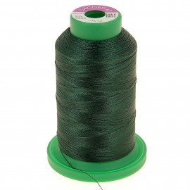 Cone of embroidery thread ISACORD40 1000m - dark green