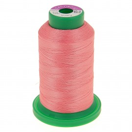 Cone of embroidery thread ISACORD40 1000m - coral pink