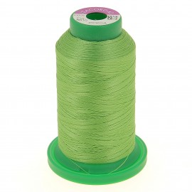 Cone of embroidery thread ISACORD40 1000m - lime green