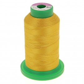 Cone of embroidery thread ISACORD40 1000m - yellow curry