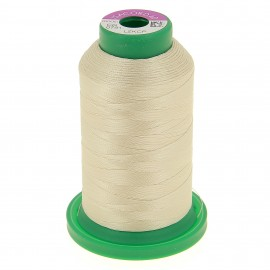 Cone of embroidery thread ISACORD40 1000m - ivory