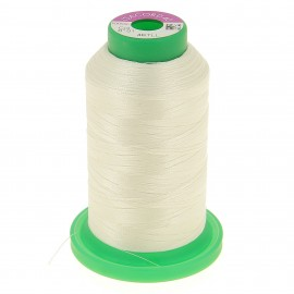 Cone of embroidery thread ISACORD40 1000m - snow white