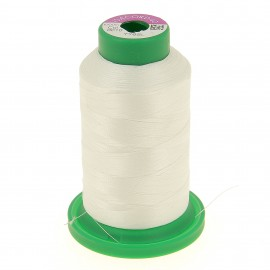 Cone of embroidery thread ISACORD40 1000m - optical white