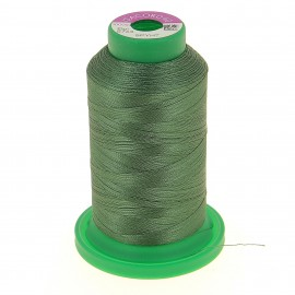 Cone of embroidery thread ISACORD40 1000m - olive green