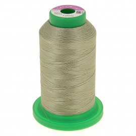 Cone of embroidery thread ISACORD40 1000m - light khaki