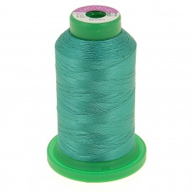 Cone of embroidery thread ISACORD40 1000m - emerald  green
