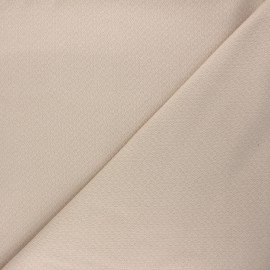 Double openwork fabric - sand x 10cm