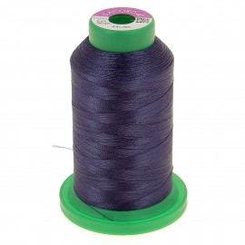 Cone of embroidery thread ISACORD40 1000m slate  blue
