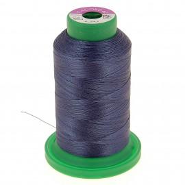 Cône de fil à broder ISACORD40 1000 m - bleu gris