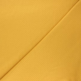 Double openwork fabric - mustard yellow x 10cm