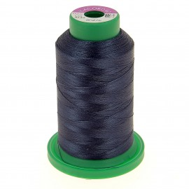 Cone of embroidery thread ISACORD40 1000m - petrol blue