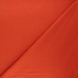 Double openwork fabric - carrot x 10cm