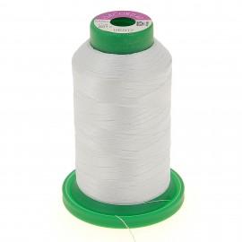 Cône de fil 100% polyester 1000 m blanc