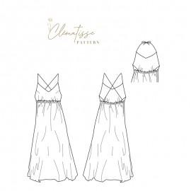 Dress sewing pattern - Clématisse Pattern Cassandre