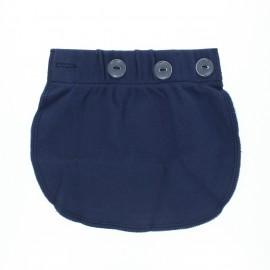 Waist extender for pregnancy - navy blue