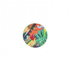 23 mm polyester button Amazonia - Rio