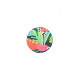 23 mm polyester button Amazonia - Janeiro