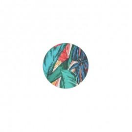 23 mm polyester button Amazonia - Tamarindo