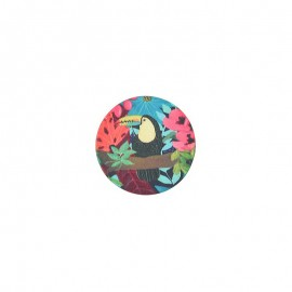 23 mm polyester button Amazonia - Ejidal