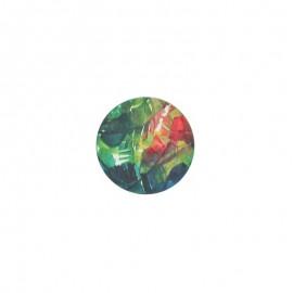 23 mm polyester button Amazonia - Mérida