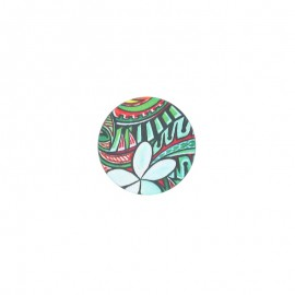 23 mm polyester button Amazonia - Ceiba