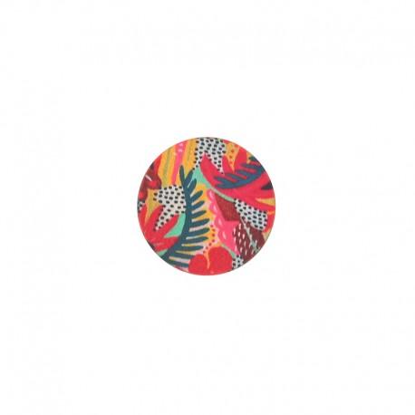 23 mm polyester button Amazonia - Iguazu