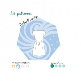 Dress sewing pattern - Les Patronnes Signac