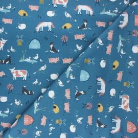 Cotton Dashwood Studio fabric - Farm life Farm days x 10cm