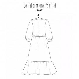 Dress sewing pattern Le laboratoire familial - Ada