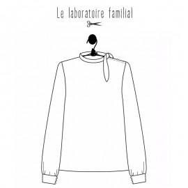 Blouse sewing pattern Le laboratoire familial - Florence