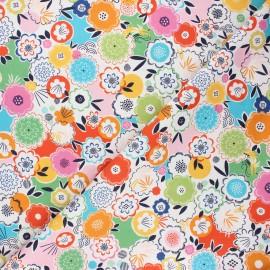 Cotton Dashwood Studio fabric - Flower power Silk roads x 10cm