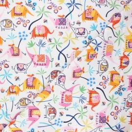 Tissu coton Dashwood Studio Silk roads - Elephant x 10cm