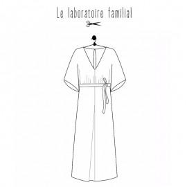 Dress sewing pattern Le laboratoire familial - Olivia