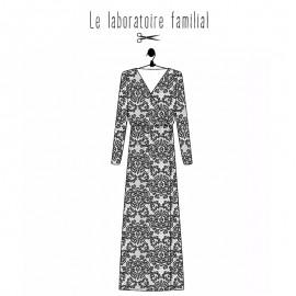 Dress sewing pattern Le laboratoire familial - Simone