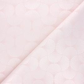 Jacquard fabric - Light pink Freda x 10cm