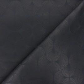 Jacquard fabric - dark grey Freda x 10cm