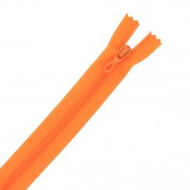 20 cm Closed Bottom Zipper Eclair® - orange