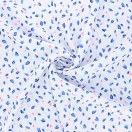 Atelier 27 Crepe fabric - white L'envolée x 10cm