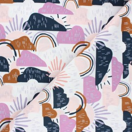 Cotton Steel cotton fabric Dear Isla - parma Hilltop x 10cm