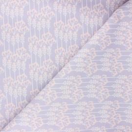 Tissu coton Cotton Steel Sundown - Constance - violet x 10cm