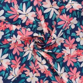 Atelier 27 Crepe fabric - navy blue L'adoré x 10cm
