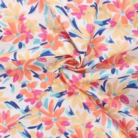 Atelier 27 satin cotton fabric - multicolor L'amusé x 10 cm