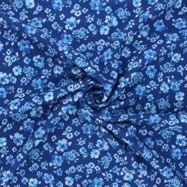 Tissu crêpe Atelier 27 Mia - bleu marine x 10cm