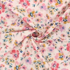 Atelier 27 Crepe fabric - multicolor Léna x 10cm
