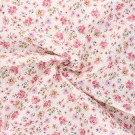 Tissu satin de coton Atelier 27 Lucile - multicolore x 10 cm