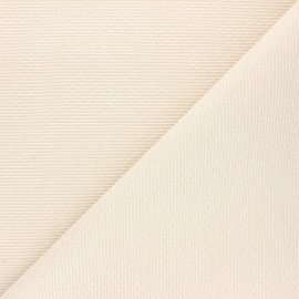 Atelier 27 Lurex jacquard fabric - raw/gold Mailys x 10cm