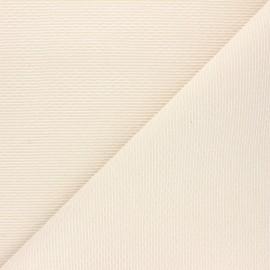 Tissu jacquard lurex Atelier 27 Mailys - écru/or x 10cm