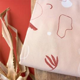 Viscose fabric Atelier Brunette -  Sandstorm Blush x 10cm