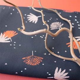 Tissu viscose Atelier Brunette - Palmetto Night x 10cm