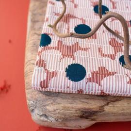 Tissu simple gaze de coton Atelier Brunette - Mirage Forest x 10cm